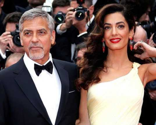 Dutiful Husband: George Clooney Finally Obeys Amal's Rules of the Road Sdfsdf-3