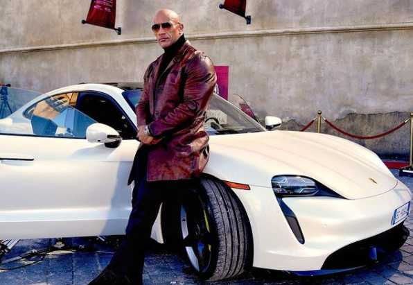 The Rock launches his own brand of energy drinks