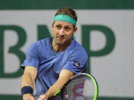 Angry Tennys Sandgren advances in Australian Open tune-up