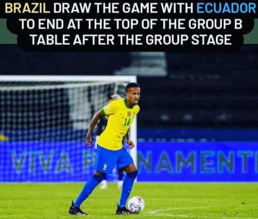 Brazil vs Ecuador, Copa America: Ecuador Reach Quarters After 1-1 Draw With Brazi