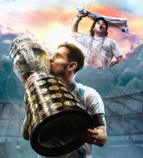 Lionel Messi, Argentina win Copa America over Brazil